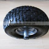 $30000 Quality Guarantee 4.10 / 3.50- 4 pu wheels 10 inch tire for hand trolley scooter and kid toy farm tools and names