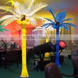 Christmas tree light LED lighted palm tree/coconut tree for sale