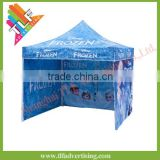 Heavy duty outdoor dye sublimation printing hexagon 50mm aluminum ez up tent for Christmas