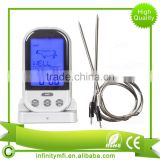 Amazon Hot Selling Meat Thermometer BBQ Grill Probe Digital Remote Smoker Oven