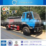 Dongfeng 4*2 12000 liters chemical tank truck with high quality for sale in South America, Dubai