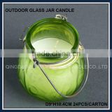 2015 hot wax candle marble candle jars