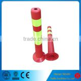 Strong Flexible Road PU Warning Post Spring Delineator