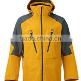 Men's Double Layer Waterproof Polyester ski Jacket