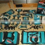 Clearance SALE! Original Makita power tools LXT1500 18-Volt LXT Lithium-Ion Cord-less 15-Piece makita Combo Kit