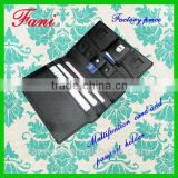 Fani mutifunction SD & SIM memory card holder/ genuine leather credit card holder and passport wallet holder