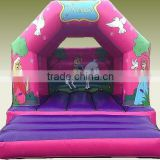 Inflatable princess bouncer, high quantity inflatable air jumping house for kids fun cheap price