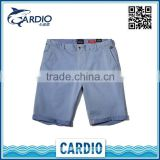 China high quality bright color fine pants men trouser material fabric high quality short