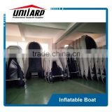 1.2mm PVC Catamaran Style Inflatable Boat