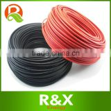 PV cable 1x6mm2 solar wire, 200meters/roll, XLPE jacket, copper core for solar power system.