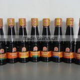 Light Soy sauce 200ml in bottle and Pure soy sauce in Plastic drum, Chilli sauce 200ml in bottle