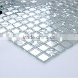 SMG14 sliver color mosaic decorative wall mosaic mirror glass tile
