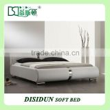 Lift Up Storage Bed With Leather Upholstered DS-A833