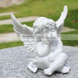 customized holy cupid statue resin figurine/party decorations wedding resin figure/oem love cupid resin figure factory