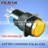 16MM 5pins led auto indicator lamp socket 220V