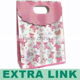 Lovely Art Paper Ladies' Trinkle Lace Gift Shopping Bag