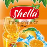 ORANGE FLAVOURED SHELLA INSTANT POWDER JUICE DRINK