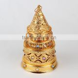 Electric Arabic Incense Burners Eu plug Censer with Pagoda/Tower Shape Thurible
