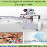 Chocolate bar/Bread Automatic feeding and packing machine
