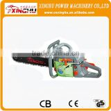 MADE IN CHINA chain saw new design high quality Gasoline Petrol /gasoline chain saw XJG chain saw