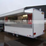 Refrigerated Truck body trailer/cargo box van trailer/Mobile Dining Trailers/Dining car trailer/semi-trailer/