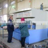 Pan bottom brazing induction heating machine