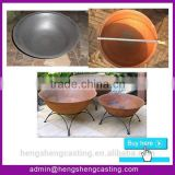 alibaba express outdoor cast iron fire pit & cast iron fire bowl & cast iron fire pit bowl