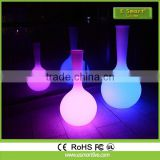 PE Plastic Shell Solar Led Flower Pot Light,led decorativeflower lights