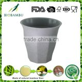Factory supply Change color bamboo fibre drinking cup