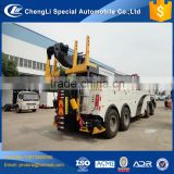 China New breakdown rotator recovery wrecker heavy hydraulic winch 20 ton towing 40 ton 50 ton price