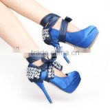 SC014 Antique fashion handmade crystal heel condoms for ladies