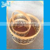 natural rattan basket wholesale rectangular willow baskets with liners with carrying handle