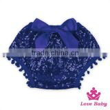Dark Purple Kids Pom Pom Shorts Fancy Bloomers In Stock For Kid Big Bow Pink Sequin Shorts