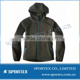 SPT-GS1306 Womens softshell jacket/womens sport softshell jacket/ladies softshell jacket with hood