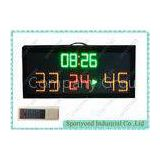 Outdoor Electronic Basketball Scoreboard With Wireless IR Controller , Waterproof IP65