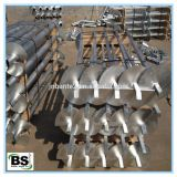 helical screw piles
