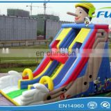 lovely clown inflatable slide / inflatable cartoon slide / inflatable slide for kids