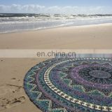 Mandala beach throw yoga mat
