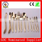 similar product with HH-SPOON-138 royal cutlery set/ unique gold-plated high end spoon fork knife with12 pcs (HH-spoon-139)