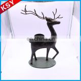 Wholesale Top Quality Metal Pagoda Tree Tealight Fish Candle Lantern Holder