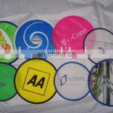 multicolored nylon foldable flying disc