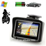 256M RAM Scooter GPS 4.3 Inch Glove Touch Screen