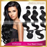 Yotchoi 7A Grade 100% Human Bundles Mongolia Virgin Human Hair Body Wave
