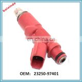 BAIXINDE BRAND 1x Fuel Injector Nozzle 23250-97401 For F601RM K3VE 2004-2006 1.3L Avanza Injector