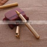 Different size EDC brass gel pen Smooth and matte keychain Brass Pen High-end promotional Gel pen