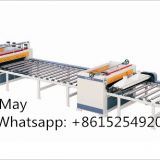 Automatic PVC sticking lamination machine for flooring/furniture panel
