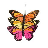 Assorted colors monarch butterfly for wedding decorations