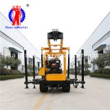 200m crawler hydraulic water well drilling rig machine for sale