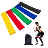 Elastic resistance bands latex pull up bands for home fitness sports