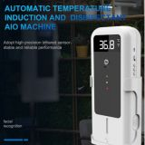 Automatic  temperature induction and disinfectand AIO  machine